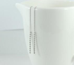 은귀걸이 심플한 실버 귀걸이 silver earring